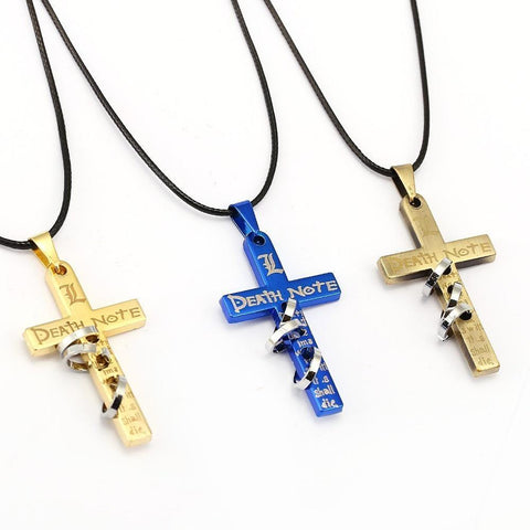 Death Note Death Note Cross Necklace