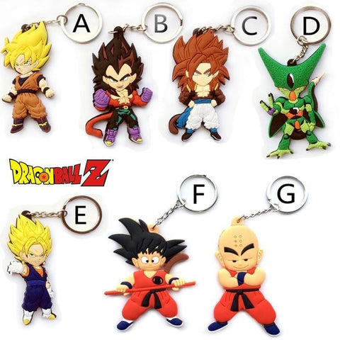Dragon Ball Dragon Ball 3D Keychains