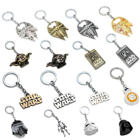 Gifnest - ギフトの家 Japan Star Wars Pendant Keychain
