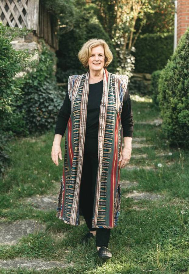 Using Your Handwoven Fabrics in Folkwear Patterns