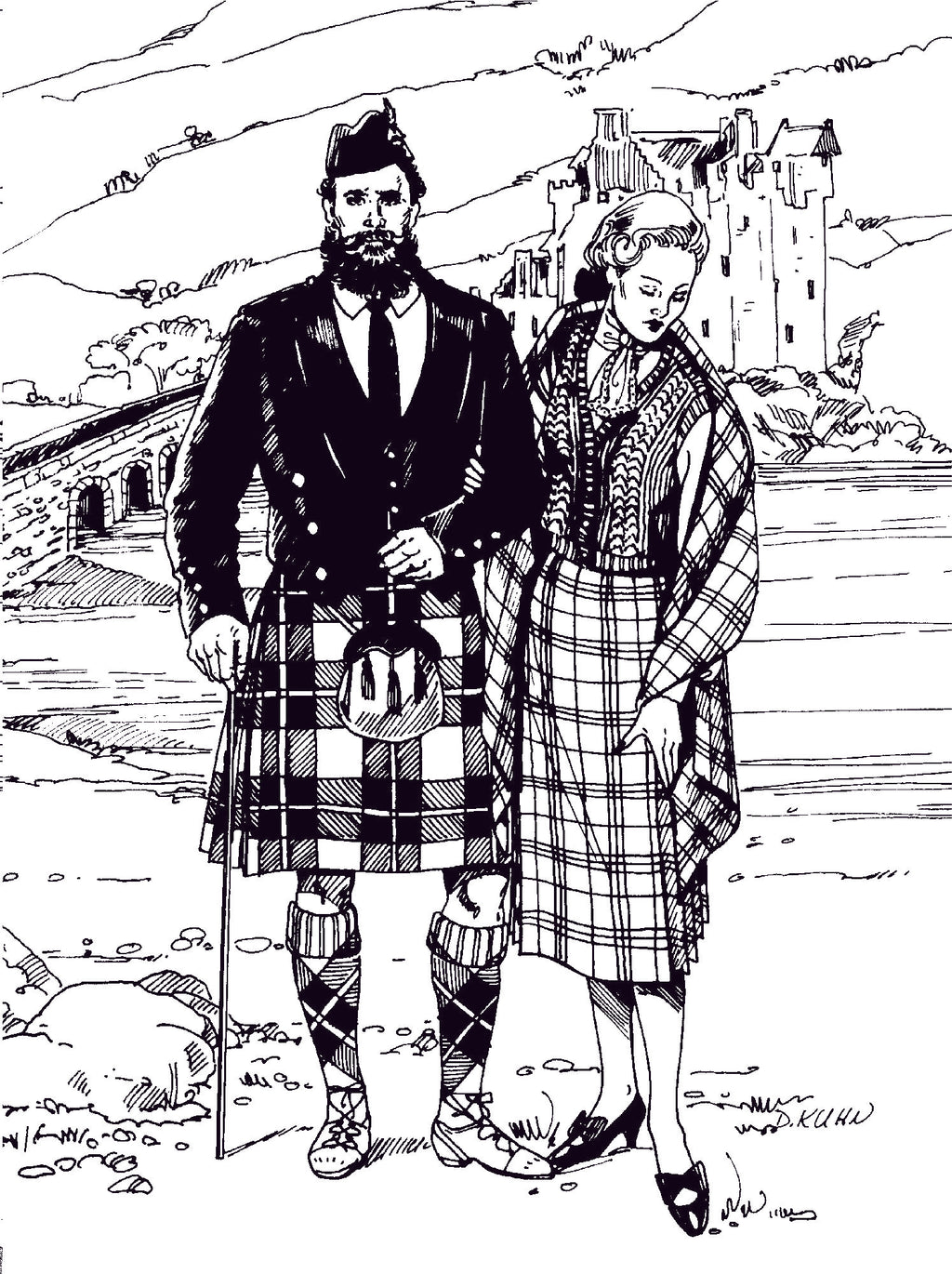 Brief History of the Scottish Kilt