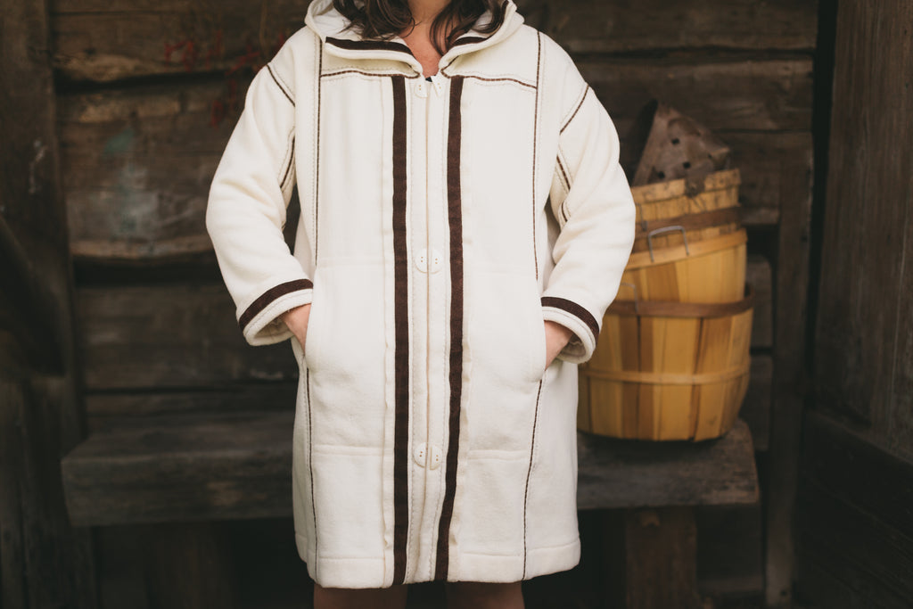 Downsizing and Making the Siberian Parka with a Front Opening