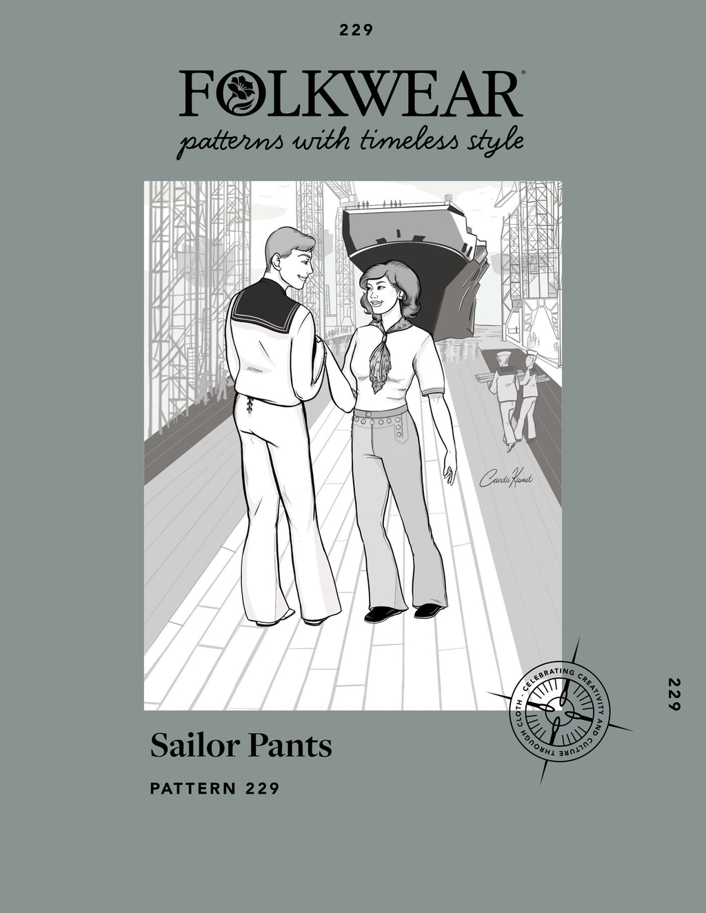 229 Sailor Pant Sew Along: Day One