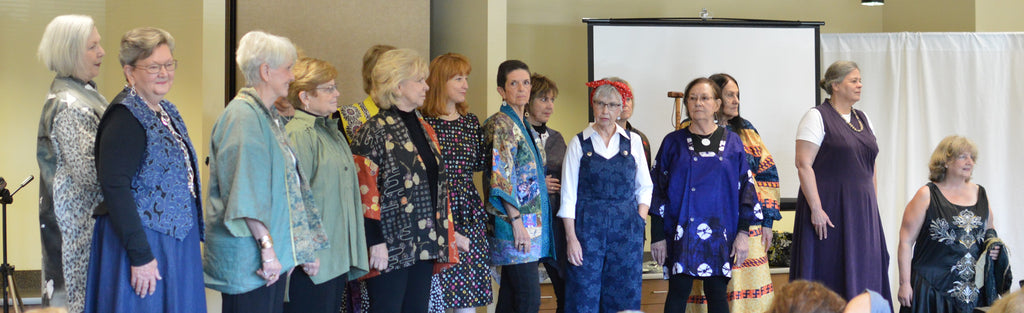 Folkwear Creations At The Asheville Quilt Show