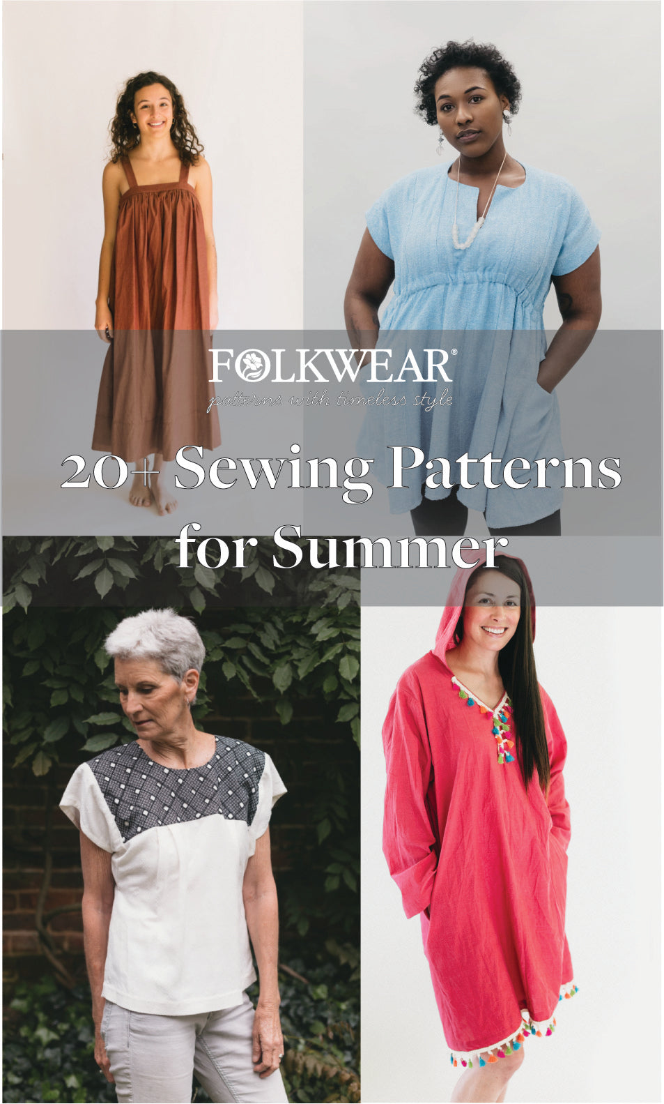 20+ Sewing Patterns for Summer