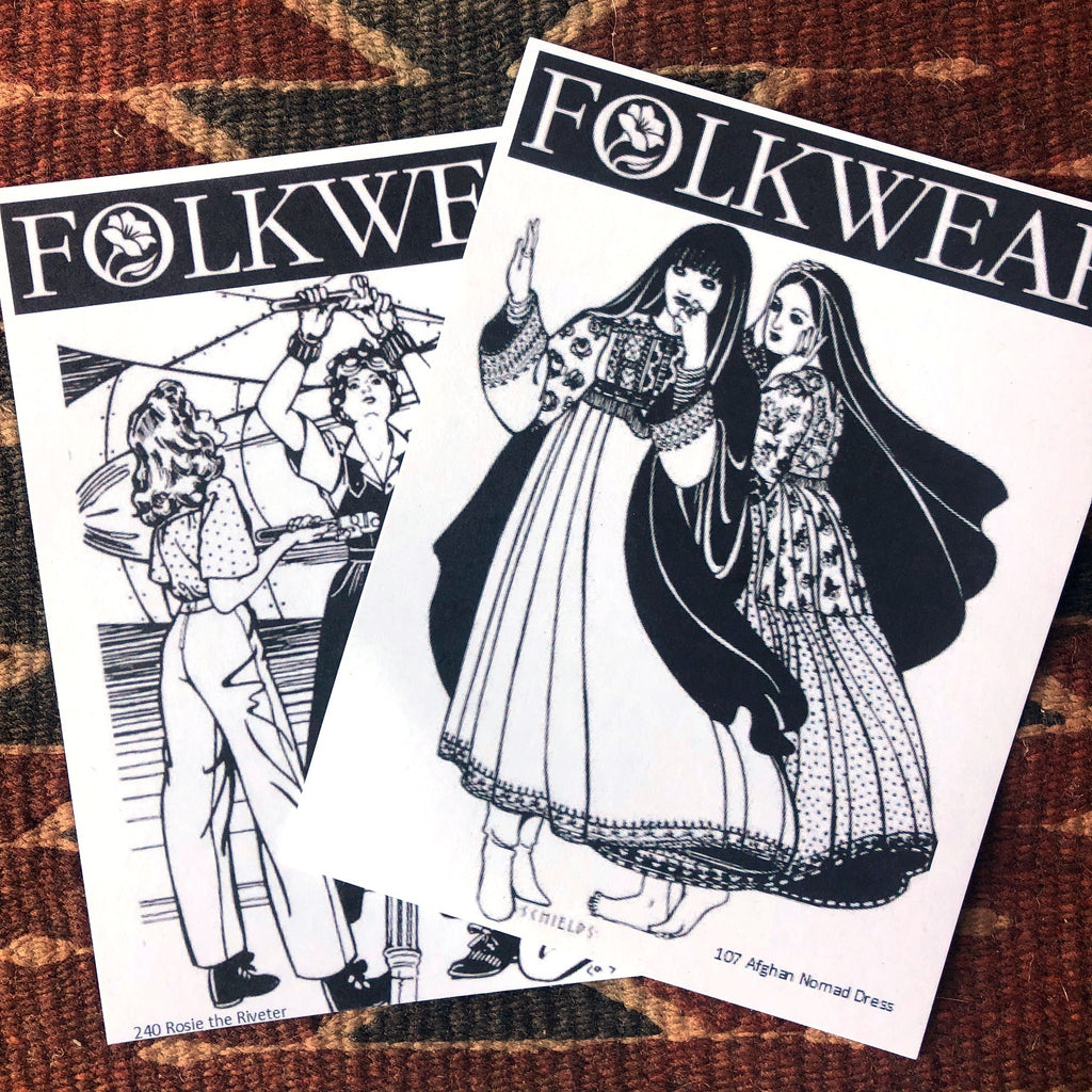 Folkwear Postcards