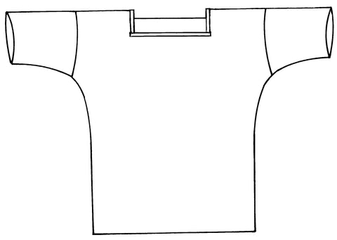 line drawing of View A, front