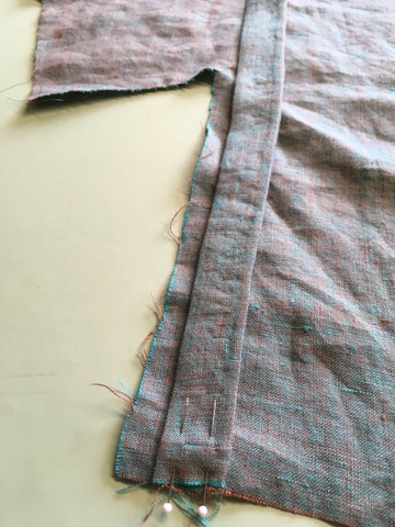 Tie edge aligned to Chupa Front