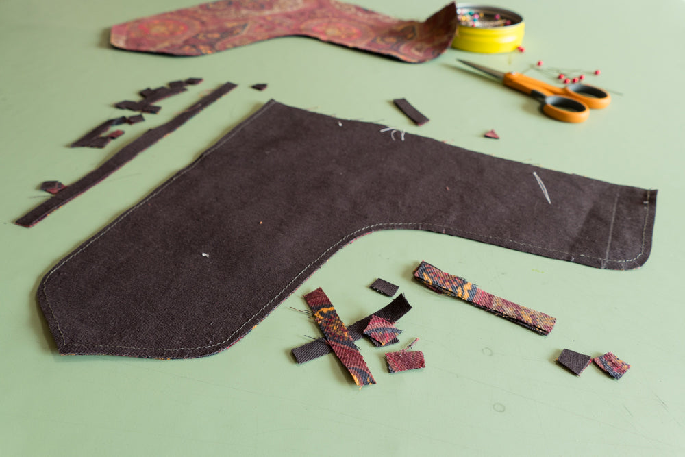Clip the curves and trim the edges.