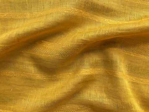 Gold colored linen