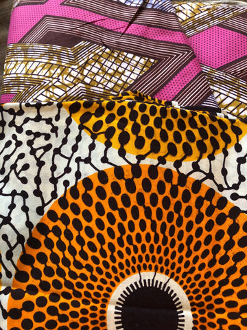 Beautiful african print trousers M Waxprint cotton fabric Handmade in Ghana. Best quality L