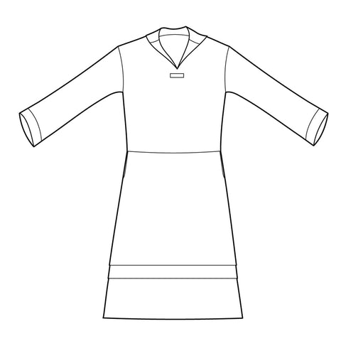 Illustration of the 211 Middy Blouse/Dress