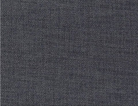 canvas fabric, small asymmetrical white dots on dark blue background
