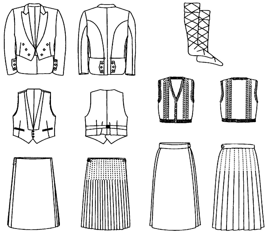 Kilt Sewing Pattern New Decorating Ideas
