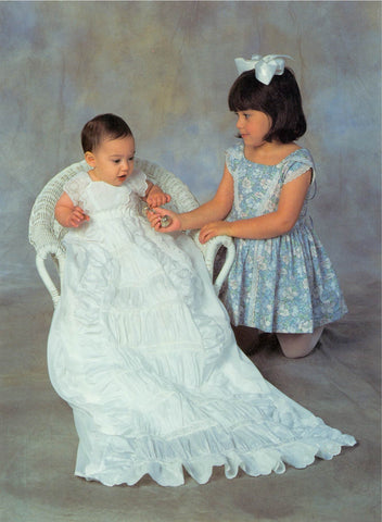 228 Victorian Christening Gown and Toddler's Dress