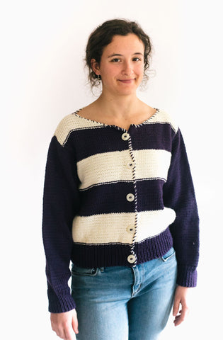 240 Rosie the Riveter Sweater and Snood - PDF pattern