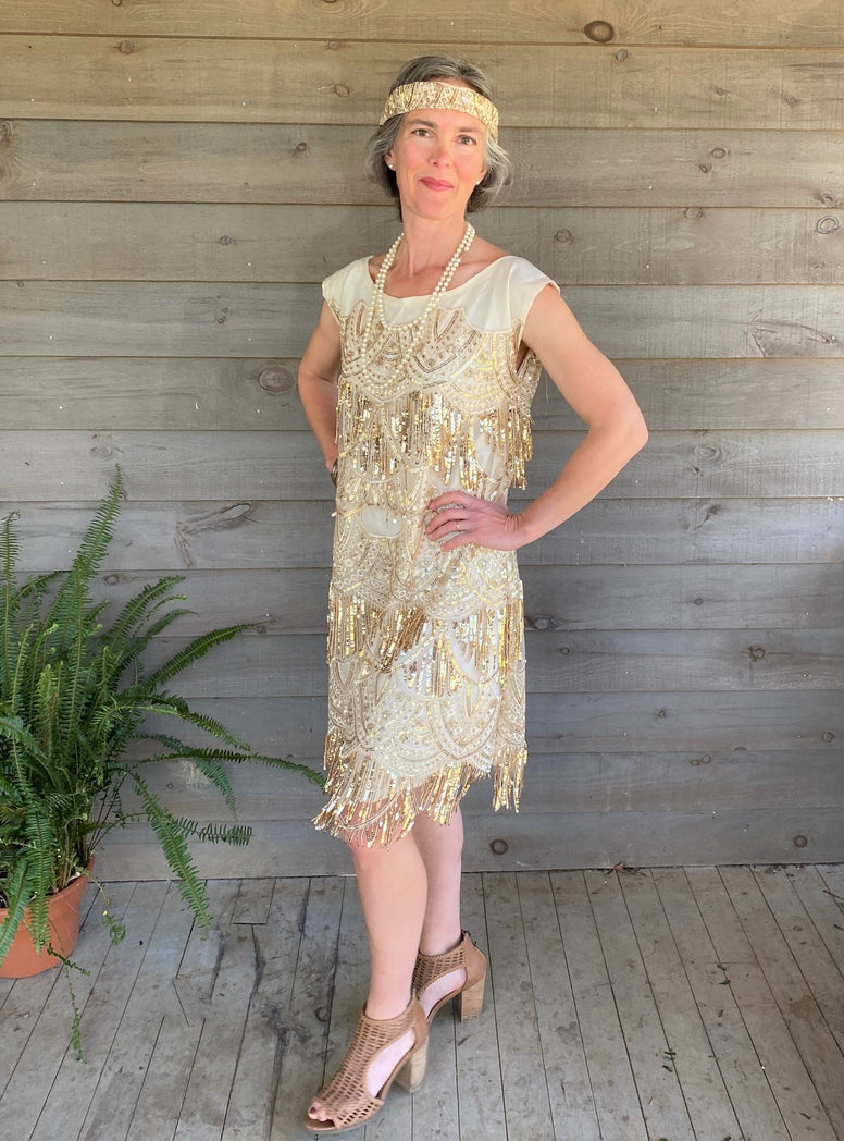 1920s Flapper Dress PDF pattern