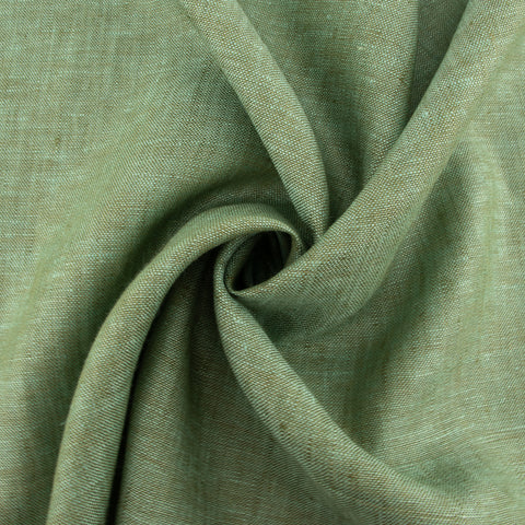 Organic Yarn-dyed Linen - Lake