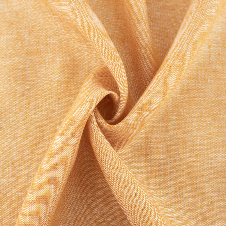 Organic Yarn-Dyed Linen - Sunset