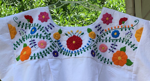 142 Old Mexico Embroidery Pattern