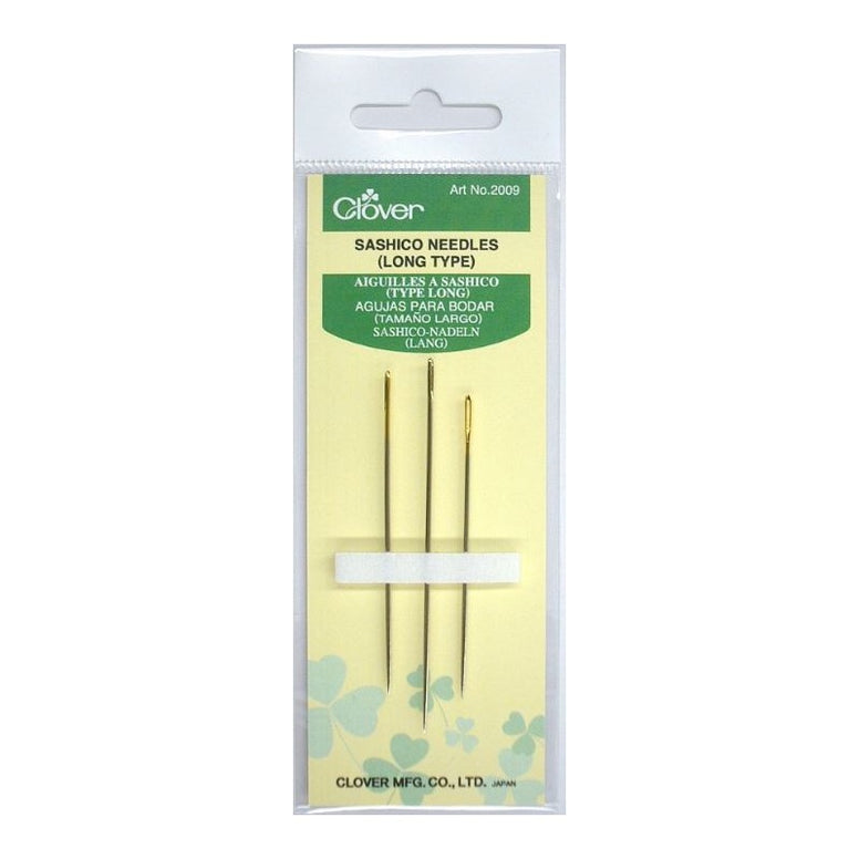 Sashico Needles (3 Lengths)