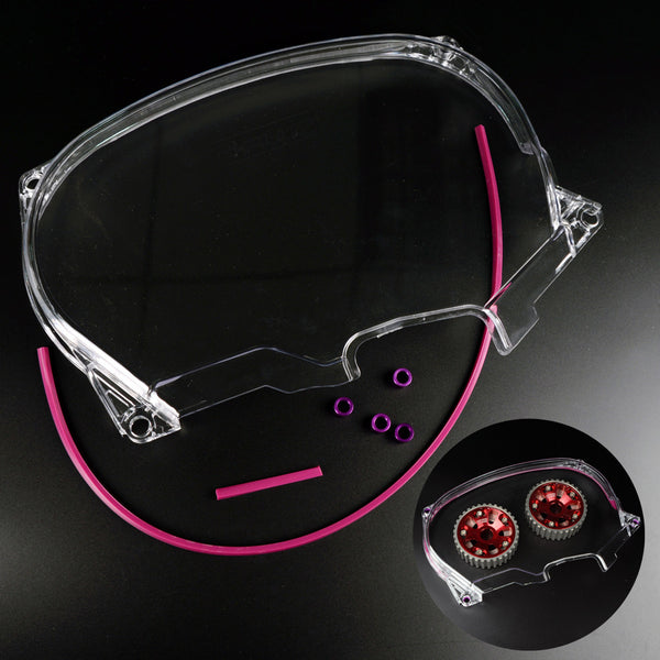 Clear Timing Belt Cover For Evo 4-8 4G63 Motors