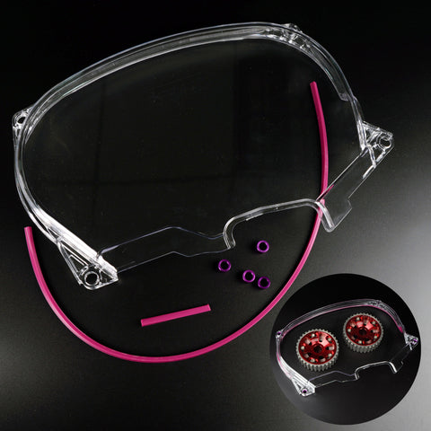 Clear Timing Belt Cover For Evo 4-8 4G63 Motors - Elite Evolved