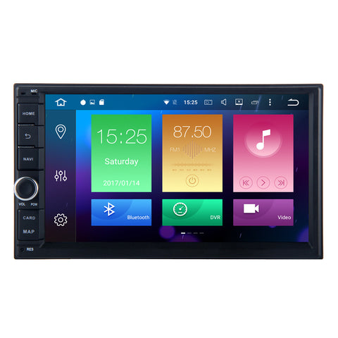 Android 6.0 8 Core 7 Inch 2 DIN Universal Head Unit - Elite Evolved