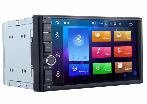Android 6.0 8 Core 7 Inch 2 DIN Universal Head Unit