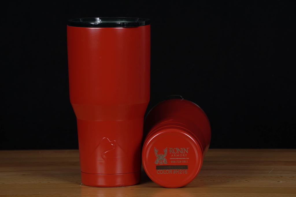 Cerakoted Ozark Tumbler - Smith & Wesson Red