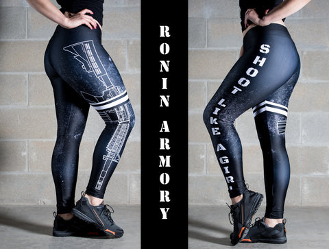 Shoot Like A Girl Leggings