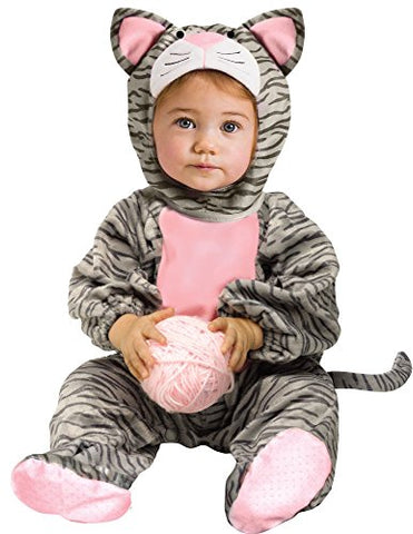 Fun World - Little Stripe Kitten Infant Costume - Infant (12/24 Months)