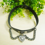 1Pcs New Arrival Women Trendy Collar Punk Goth Cross Choker Necklaces
