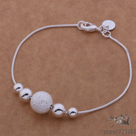 Silver Plated Bracelets Fashion Jewelry