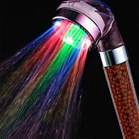 High Quality 7 Colors Change Led Shower Tourmaline SPA Anion Hand Held Bathroom Led Shower Head
