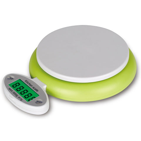 Rectangle Green LCD Display Digital Fruit Household Scale