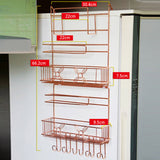 Wall Mounted Storage And Racks Holders 5 Tier