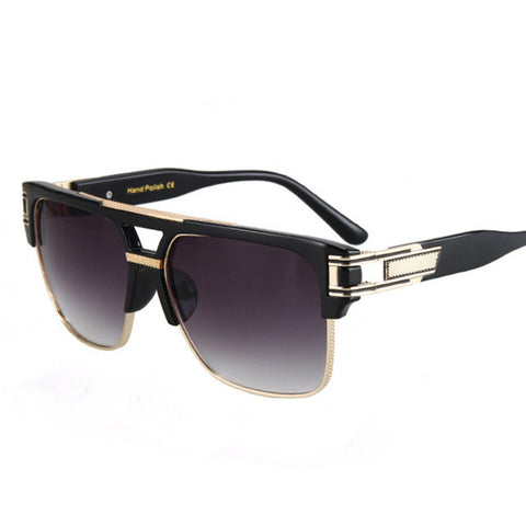 Men Sexy Semi-Rimless Eye Wear Sun Glasses