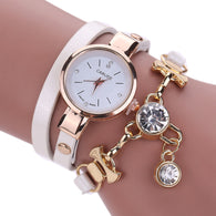 Women Rhinestone Quartz Wristwatches Optional Colors