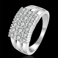 Elegant Full Finger Crystal Rings