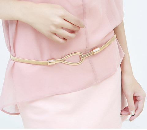 Women Belts Luxury Waist Girdle Women Metal Strap Gold/Silver Waistband