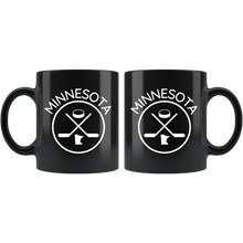 Minnesota Hockey Mug Black