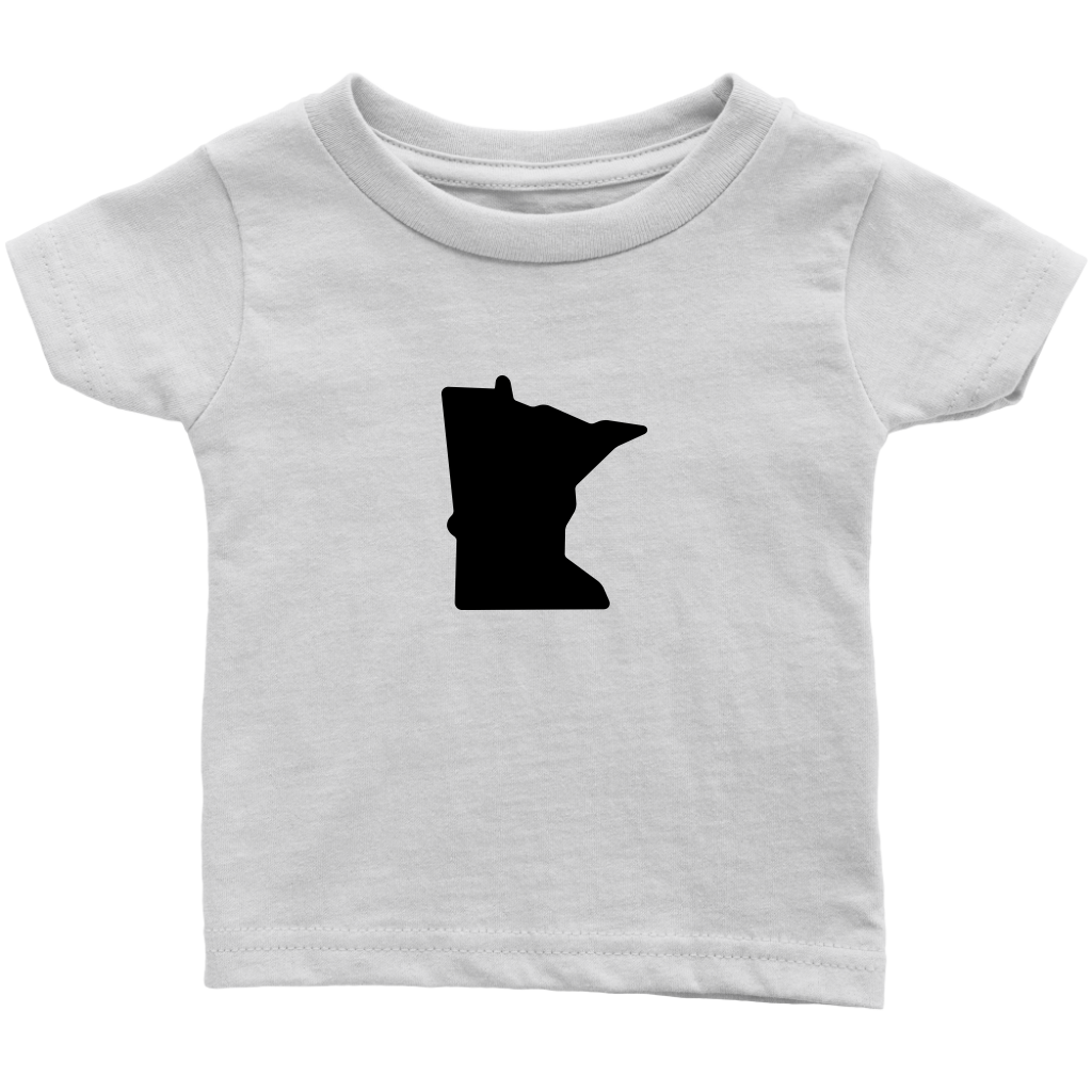 Minnesota Infant Tee in White