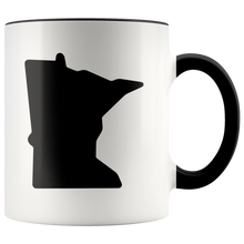 Minnesota Accent Mug in Black