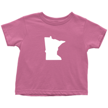 Minnesota Toddler Tee in Pink
