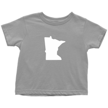 Minnesota Toddler Tee in Grey