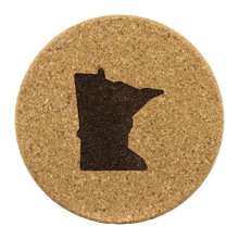 Minnesota Cork Coaster