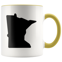 Minnesota Accent Mug in Yellow