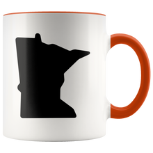 Minnesota Accent Mug in Orange
