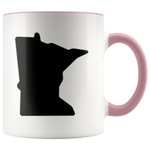 Minnesota Accent Mug in Pink